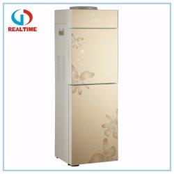 Frío y calor vidrio templado con dispensador de agua de refrigeración del compresor nevera RT-166b