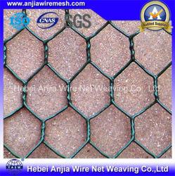 L'acier galvanisé recouvert de PVC grillage hexagonal Filet de poulet