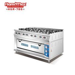 8 Brenner Gasherd Herd Kochbereich mit Gasherd Gewerbliche Küche/Catering/Kochen/Restaurant/Hotel Ausrüstung Für Heiße Lebensmittel Bäckerei Ausrüstung