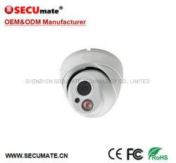 4MP H. 265 Réseau Caméra IP Poe tourelle dôme interne en métal
