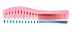 Double-Purpose peigne Brosse à cheveux en plastique