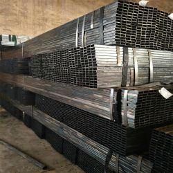 20*20/30*30/40*40/50*50/60*60/40*80/30*60 Tubo de acero rectangulares de tubo cuadrado con el peso de la fábrica de la lista de precios