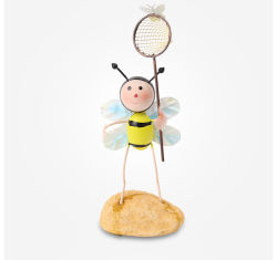 Animais de metal de abelhas para presente de promoção de arte-final