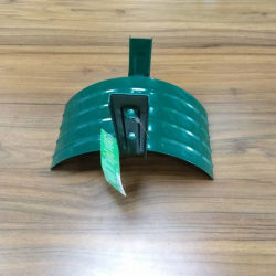 Suporte de mangueira de jardim de metal verde cabide