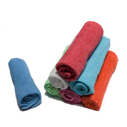 Настраиваемый логотип печати ткань из микроволокна салфетки для очистки кухня и ванная комната поверхности