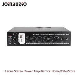 Inicio Amplificador Amplificador estéreo con reproductor de MP3 (USB-50C)