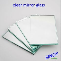 Sinoy Mirror株式会社1.1mmへのInterior Decoration Applicationsのための6mm Waterproof Clear Silver Mirror Glass