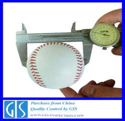 Qualitätskontrolle Inspection für Baseball in China