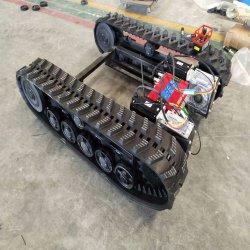 Landwirtschaftliche Maschinen für Gummilager mit Fahrgestell und Kraftübertragung.