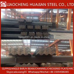 Ángulo de galvanizado en caliente de la barra de acero para construcción