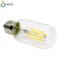 China lâmpada de filamento de tipo T T45 E27 6W Luzes doméstica de LED