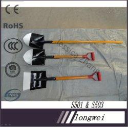 Высокое качество дешевые цены окрашенные сад ручной инструмент с длинной деревянной ручкой S503L сошника