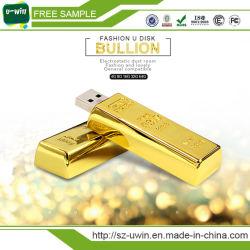 Nouvelle barre d'or Arrivel lecteur Flash USB USB en métal