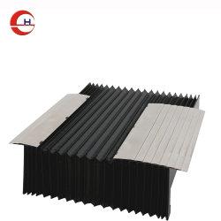 يغطي وقاءات الأكورديون البلاستيكية غطاء الحشوة المصنوعة من الكومبو والماكينة مع الشبكات المدمجة (CNC) أغطية القضبان الخطية.