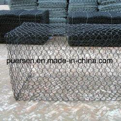 Mur de gabions de clôture de la grille de calandre