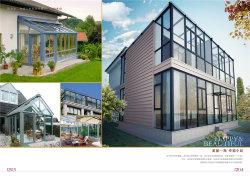 Aluminium Sunshine Room voor Villa en Conservatory Garden (ts-1010)