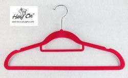 Fluwelen Hanger die Hanger voor kleren opsloedt