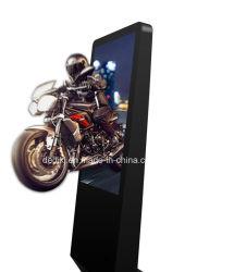 تصميم أنيق مزود بنظارات مقاس 46 بوصة، شاشة عرض إعلانية ثلاثية الأبعاد من دون شاشة LCD