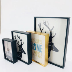 Profil en aluminium & cadre photo Aluminium & SNAP Frame & Cadre Photo en métal pour la maison décorations