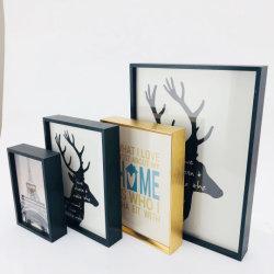 Personalizar el tamaño de imagen de aluminio y el Marco de fotos para el hogar Decoraciones