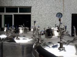cuve de mélange en acier inoxydable avec certificat SGS