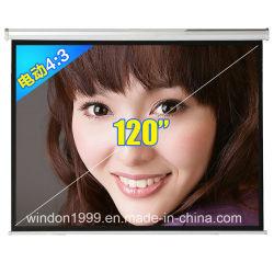 120 дюйм электрического сервопривода экран проектора домашнего кинотеатра HD проекции