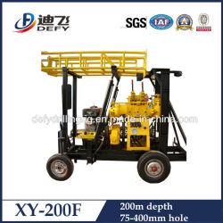 이용된 회전하는 유압 Xy 200f 우물 드릴링 리그