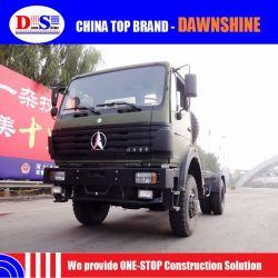 Camion pieno militare dell'azionamento di Beiben 4X4 del camion del camion