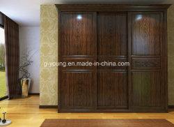Классический отель в европейском стиле домашней мебели цельной древесины шкаф шкаф полки
