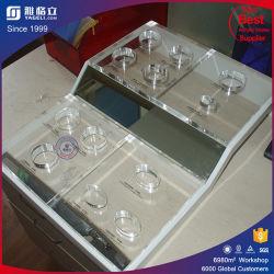 Tienda personalizada pantalla cosmética acrílico contador