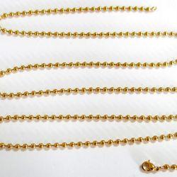 Ketting van de Bal van de Douane van de Juwelen van het roestvrij staal de Gouden