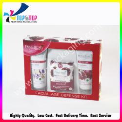 Dekorative kosmetische Verpackungs-Papierkästen färben