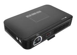 """Wowoto 4K Projecteur 1080p avec batterie de la fonction Auto Focus 2GO+16go 200"""" Bluetooth WiFi TV 3D Home Cinéma Immersive Screenless Projecteur à LED (T9)"""