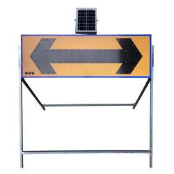 Signo de advertencia de seguridad vial LED de luz de la Junta de flecha Guía de la señal de tráfico