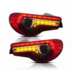 Для Toyota 86 2012-2016 светодиодный задний габаритный фонарь красного Clear/Дым цвета