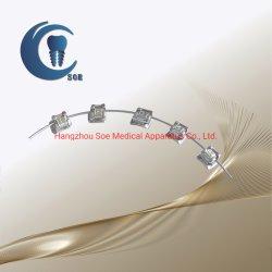 Tipo ortodontico auto di Damon della fabbrica della Cina che lega lo strumento dentale di Bracekts