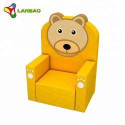 L'ours de gros de baby-sitting canapé en cuir souple pour les enfants Les enfants Les enfants Meubles