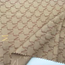 De Stof van de Polyester van de Jacquard van het Embleem van de douane voor de Voering van de Handtas