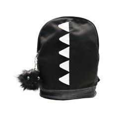 Poids léger sac de toile jean Stiching avec dents sac à dos de loisirs