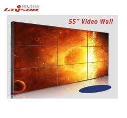 46, 49, 55, 60, 65 polegadas LCD moldura ultra estreito Video Monitor de parede para TV de tela de emenda Video wall de publicidade do Controlador