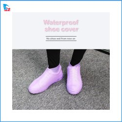 Resistente al agua de lluvia de protección de la cubierta de silicona Non-Slip Shoe