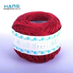 Hans Logo personnalisé teints en fil de crochet