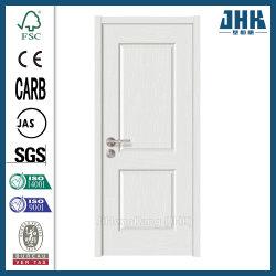 Imprimación blanca de núcleo hueco interior de la puerta de madera maciza de madera (JHK-017)