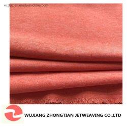 Tissu de polyester cationiques Spandex deux couleurs étendue d'eau la preuve pour vêtement