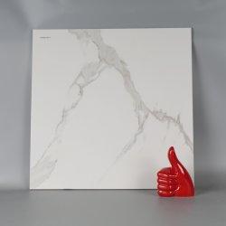 Случайные модели каррарским полного полированного стекла фарфора плитки пола (600x600мм)