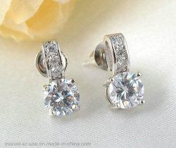 El zircón cúbico anillo COLLAR PENDIENTES DE BODA Conjunto de joyas de moda de mujer