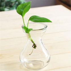 Modèle classique Vase en verre en cristal transparent l'usine pour la décoration d'accueil