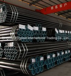 La norme ASTM A106/A53 API 5L Gr. B tuyau sans soudure en acier laminés à chaud Tuyau en acier au carbone