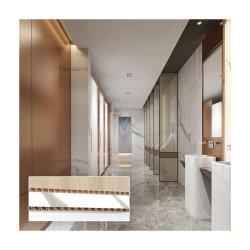 40cm 60cm Decoração de Interiores Indoor Use Hotel Casa de banho privativa com chuveiro Escolar Usar placa de parede de PVC de plástico do painel da parede do CEP