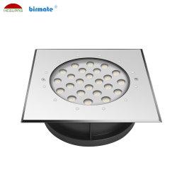 18W 24V PI68 à prova de estrutura 316L Inground LED Light Luz Subterrâneo